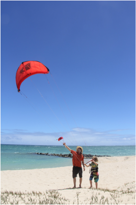 Professional Kite Boarding Instruction on Maui
