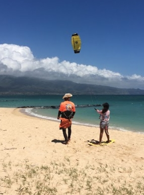 Maui Kite Boarding Schools and instruction, Complete Kite Boarding